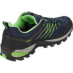 CMP Campagnolo Rigel Low WP Trekking Shoes Men Black Blue-Gecko
